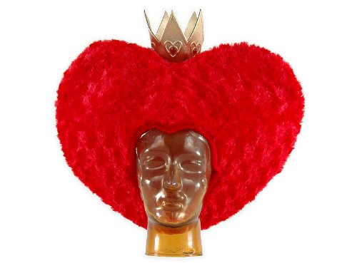 Alice in Wonderland Red Queen Hat, Disney (Alice In Wonderland Childrens Costumes)