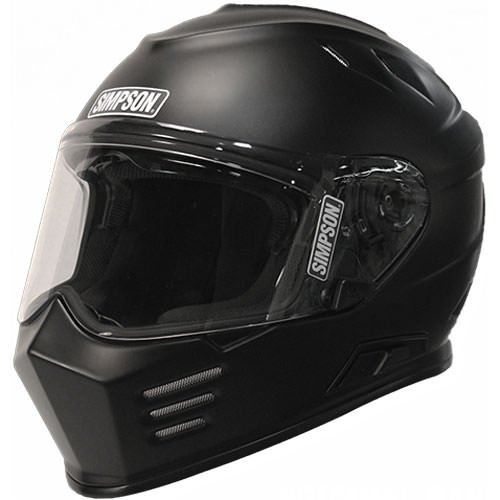 Simpson GBDXL3 Black Dot X-Large Helmet Ghost Bandit (Flat)
