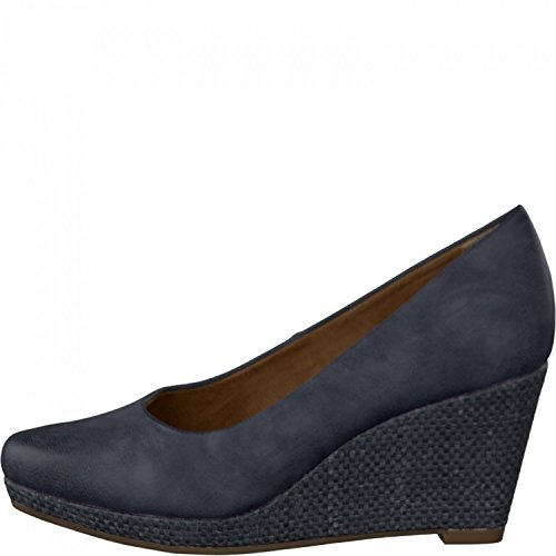 Tamaris Women Pumps 1-22444-26-805 NAVY blue BLAU tJxwER