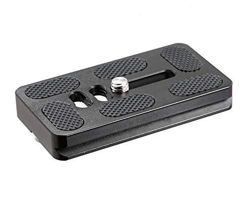Fotasy 70mm Arca Swiss Plate, 70mm QR Plate. 70mm Quick Release Plate fits Arca-Swiss Standard Clamp for Camera Tripod Ballhead (Arca Swiss Clamp 80mm)
