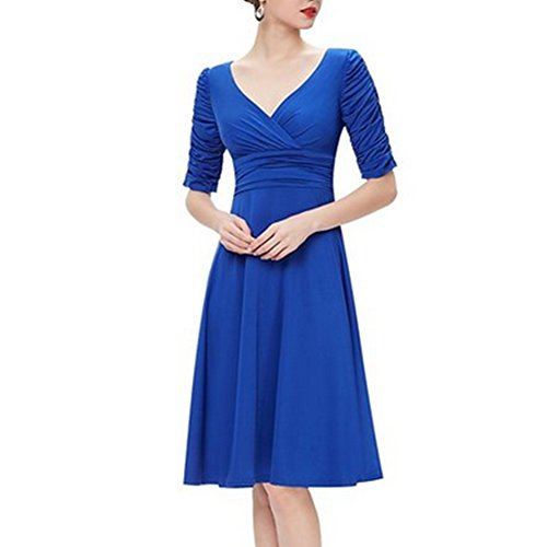 Hengzhi Womens Vintage Sleeve Shrink