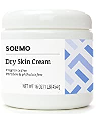 Amazon Brand - Solimo Dry Skin Cream, Fragrance free...