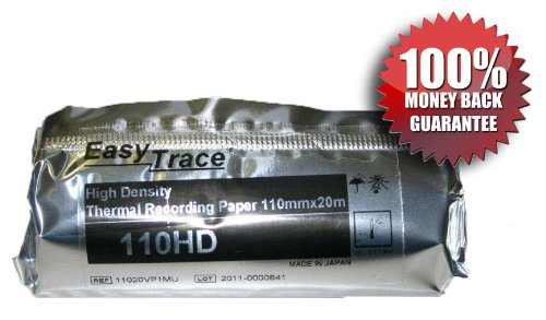 Sony UPP-110HD 110 mm High Density thermal sensitive black & white recording paper 10 Rolls/pk - A6 Thermal Paper