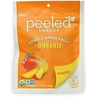 Peeled Snacks Organic Dried Fruit, Mango, 2.8 Ounce (Pack Of 12)