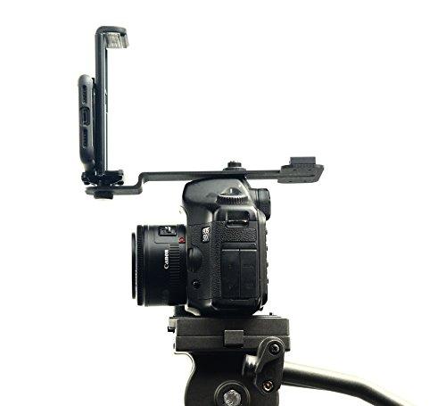 Glide Gear TMP10 Teleprompter Tablet Smartphone Hot Shoe Bracket Multi Mount Holder