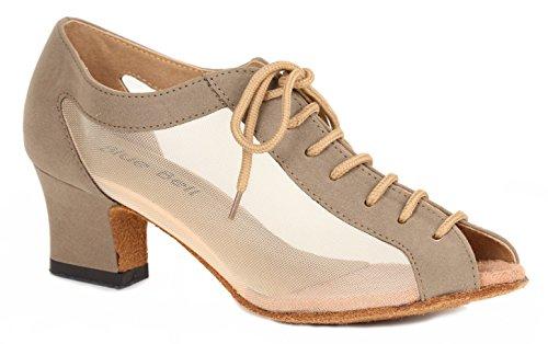Blue Bell Shoes HANDMADE Women's Ballroom Salsa Wedding Competition Dance Shoes Trisha 1.8