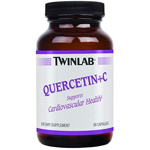 (TwinLab Quercetin + C, with Corn-Free Vitamin C, Capsules, 50 capsules)