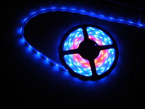 Amazon.com NEW 12V LED CRAZY LIGHTS 16.4 FEET - TAPE ROPE LIGHTING - CHASING (PLUGS DIRECTLY INTO A 110 VOLT WALL OUTLET) Home u0026 Kitchen & Amazon.com: NEW 12V LED CRAZY LIGHTS 16.4 FEET - TAPE ROPE ... azcodes.com