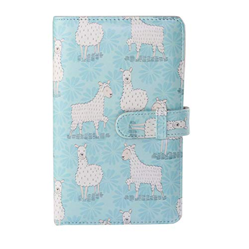 Anter 108 Pockets Instax Mini Photo Album for Fujifilm Instax Mini 8 8+ 9 7s 25 26 50s 70 90 Instant Camera & Name Card - Alpaca A