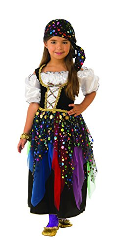 Rubie's Gypsy Child's Costume, Large -