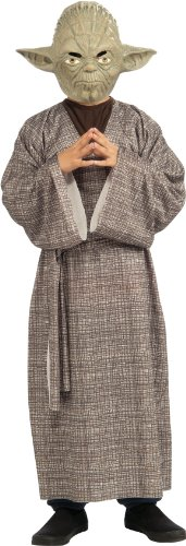 Star Wars Child's Kids Deluxe Yoda Costume, Small