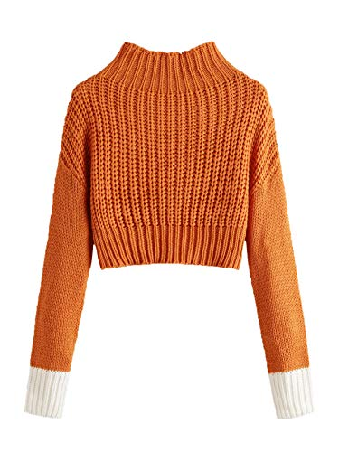 SweatyRocks Shoulder Pullover Sweater Sweaters product image