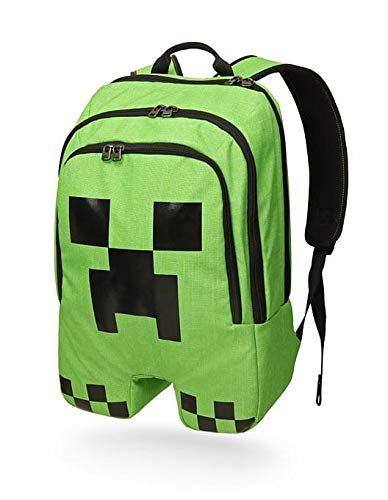 75fae2a57a Amazon.com  ThinkGeek Minecraft Creeper Backpack  Sports   Outdoors