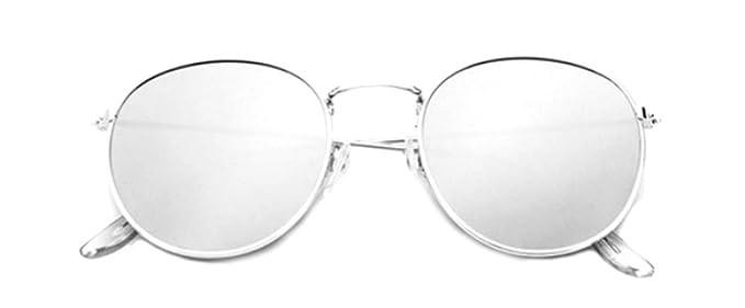 EVRYLON - Gafas de sol redondas para mujer, diseño retro con ...