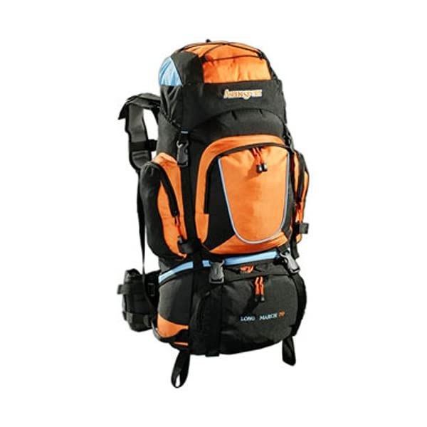 bc4c0dac6f AspenSport – Zaino da trekking Long March, 70 litri – TravelKit