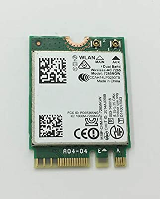 Amazon.com: 867Mbps Dual Band Wireless-AC 7265NGW WiFi Card ...