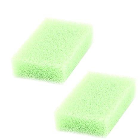 Amazon.com: eDealMax esponja de cocina Inicio de Picnic Plato Tazón placa Pan Pot limpieza 2pcs de Lavado de ratones Verdes claros: Health & Personal Care