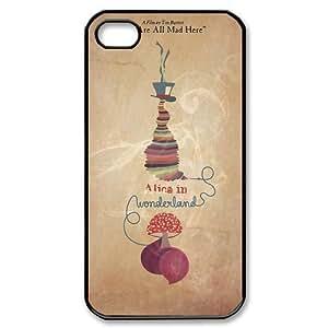Alice in Wonderland iphone 4 4s Hard Plastic Back Cover Case