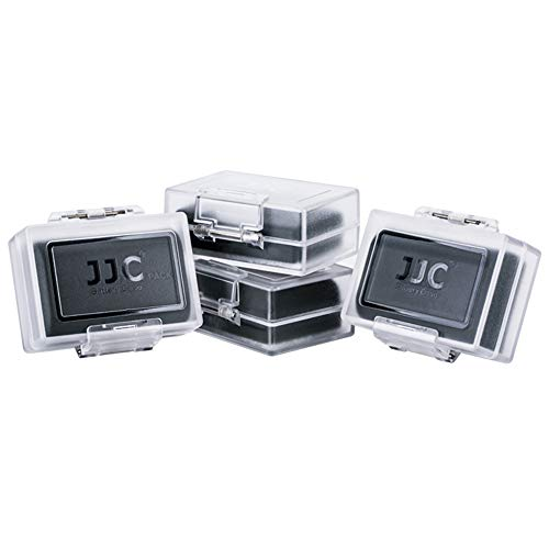 4-Pack JJC Compatible Camera Battery Case for Canon LP-E6N L