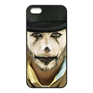 ALICASE Diy Customized Hard Case Clown for iPhone 5,5S [Pattern-1]