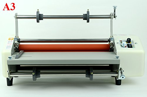(INTBUYING 110V A3 Doubel Sides Hot Cold Laminating Thermal Laminator)