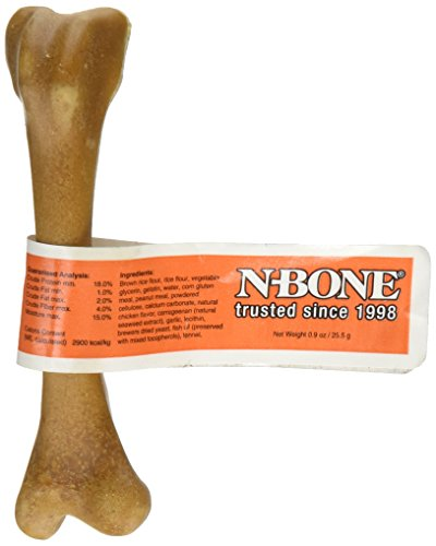 N-Bone 0.9-Ounce Banded Pupper Nutter Treat for Dogs, Sma...