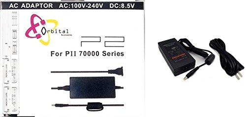 Video Game Accessories NEW AC ADAPTER CHARGER POWER CORD SUPPLY FOR SONY PS2 SLIM BlLACK (IN BOX)