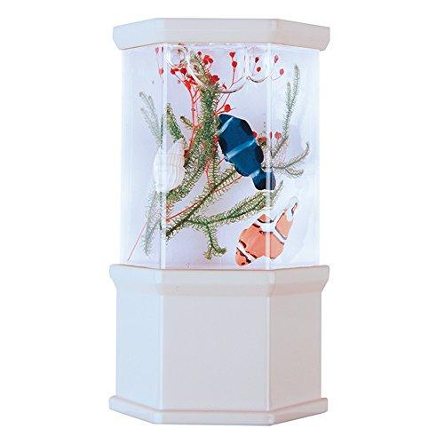 Meridian Electric 10213 LED Color Changing Aquarium (Kids Aquarium Fish)