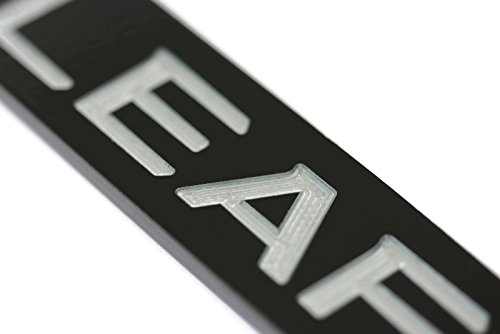 license plate frame nissan leaf - 3