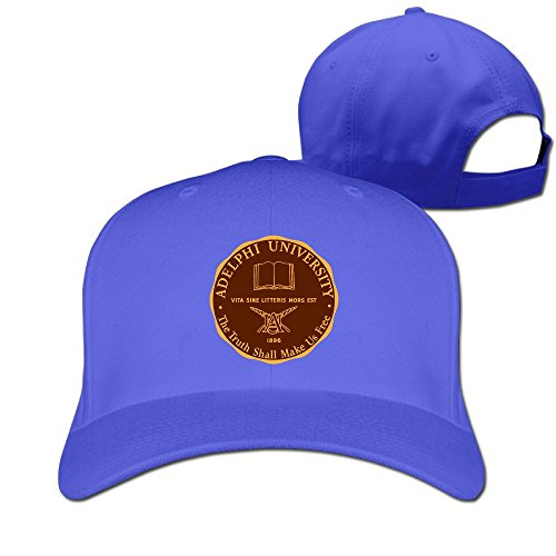 UANLA Adelphi University Seal Adjustable Snapback Hats Baseball Caps