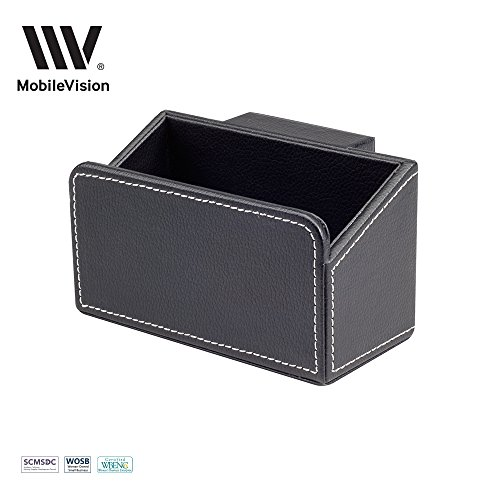 MobileVision Executive Caddy Add-On for File Folder Desktop Organizers; Compartment & storage space fits pens, pencils, keys, & other stationary items (Under Table Separately Sold Paper)