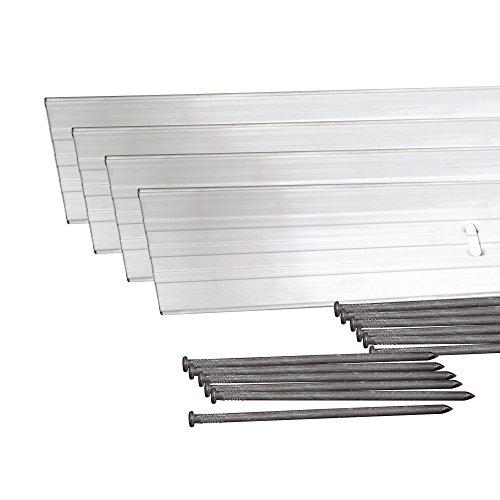 Dimex EasyFlex Aluminum Landscape Edging Project Kit, Will Not Rust Like Steel, Silver (1806ML-24C)