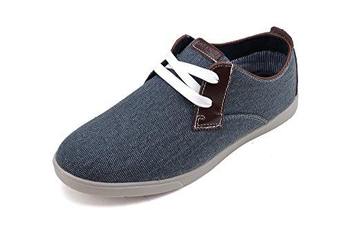 Corre Re Nuova Leggerezza Andare Facilmente A Piedi Da Uomo Casual Sneakers (r7279) Navy