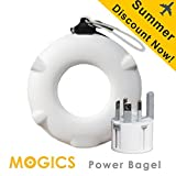 MOGICS BAGEL- (White) Universal Travel Power Strip