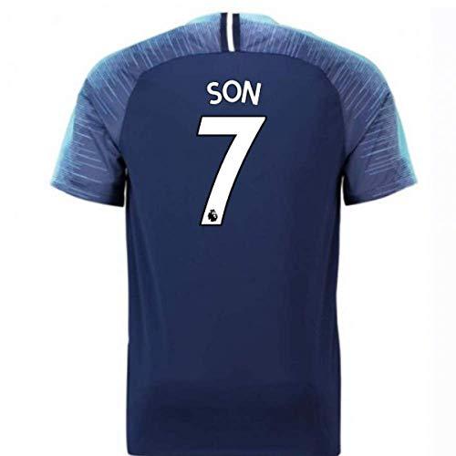 - 2018-2019 Tottenham Away Nike Football Soccer T-Shirt Jersey (Son Heung Min 7)