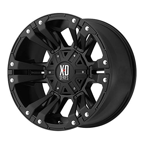 XD SERIES BY KMC WHEELS MONSTER 2 MATTE BLACK MONSTER 2 17x9 6x135.00/6x139.70 MATTE BLACK (-12 mm)