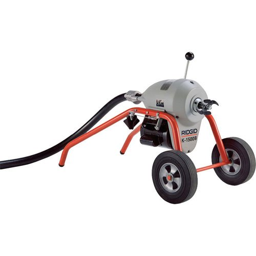 RIDGID 23712 K-1500A Sectional Machine, A-Frame Sectional Sewer Machine with Easy Plumbing Cable Changes, Drain Cleaning Machine by Ridgid