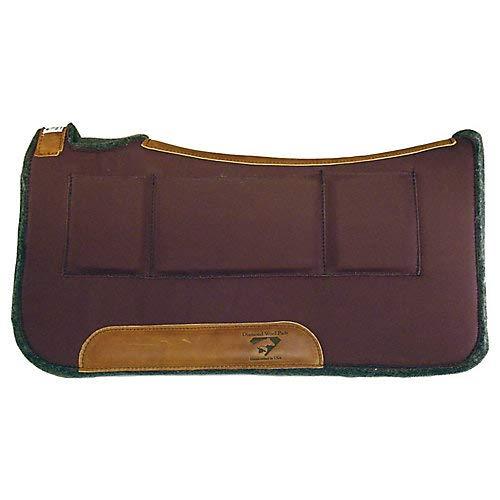 Diamond Wool Contour Relief Pad w/Shim Pockets 32X