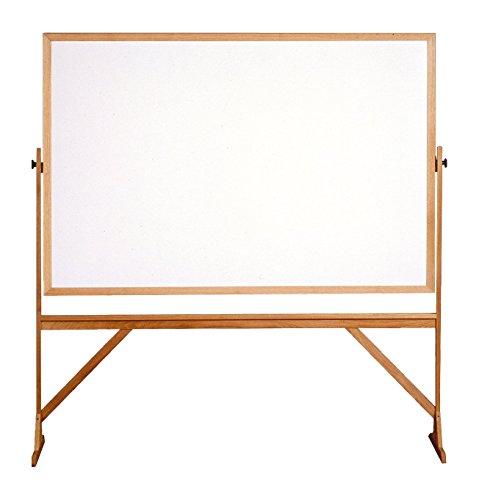 Ghent 4' x 6' Wood Frame Mobile Reversib - Frame Natural Cork Reversible Board Shopping Results