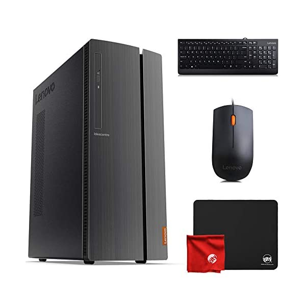 Lenovo 510A Desktop (AMD Ryzen 3 3200G 3.6GHz, 8GB RAM, Windows 10 Pro 64-Bit, 256GB...