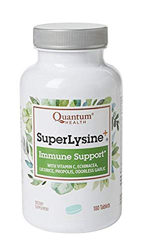 Quantum Health, Super Lysine+, Immune Support, 3 Packs (180 Tablets Each) Other nutrients in Super