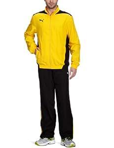 PUMA - Chándal de fútbol sala para hombre, tamaño M, color team amarillo - negro
