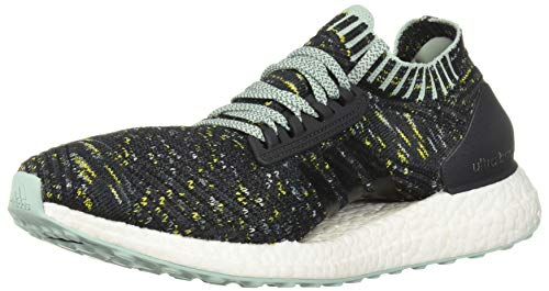 - adidas Women's Ultraboost X Running Shoe, Carbon/ash raw Green, 9 M US