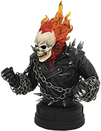 DIAMOND SELECT TOYS Marvel Comics Ghost Rider 1: 6 Scale Resin Bust (Ghost Rider Toys)