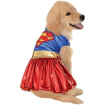 DC Comics Pet Costume, Medium, Supergirl