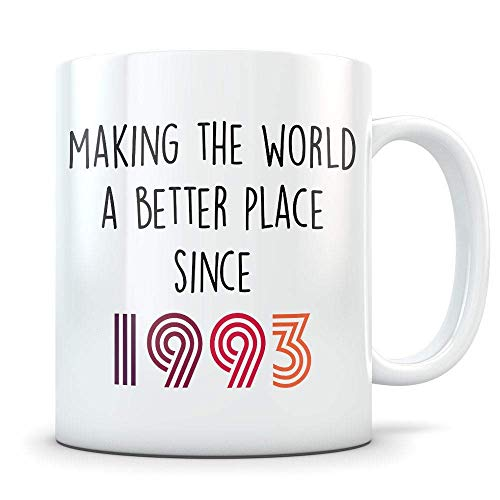 Making Our Planet Better Since 1993 Coffee Mug - 11Oz White Gift Fof Father Mother Daughter Son Husband Wife Friend Colleagues In Father's Day Mother's Day Halloween Valentine's Day]()