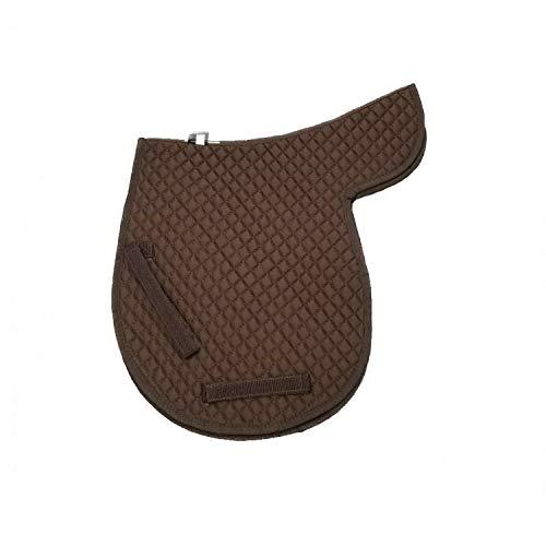 Equine Cotto Half Saddle Pad Interlaced Wave Pattern Full Size Hnf-bk(g)