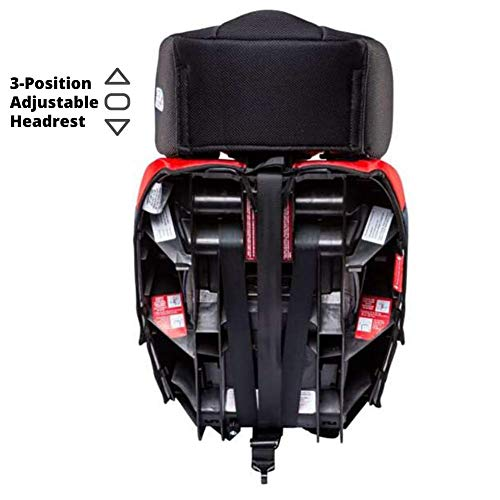 KidsEmbrace 2-in-1 Harness Booster Car Seat, Marvel Spider-Man