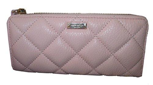 Kate-Spade-Quilted-Leather-Gold-Coast-Nisha-Clutch-Wallet-Light-Pink-Ballet-Slipper