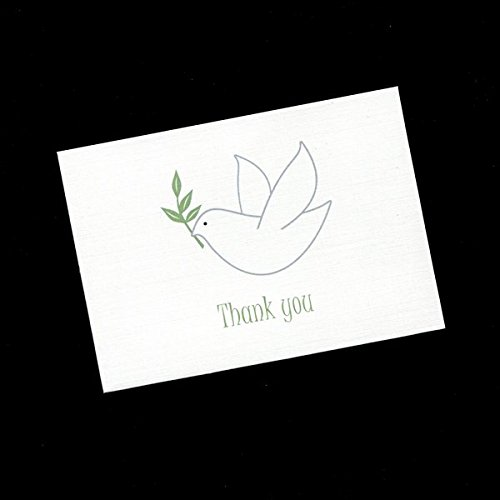 Thank You Cards, Dove (Set of 20)